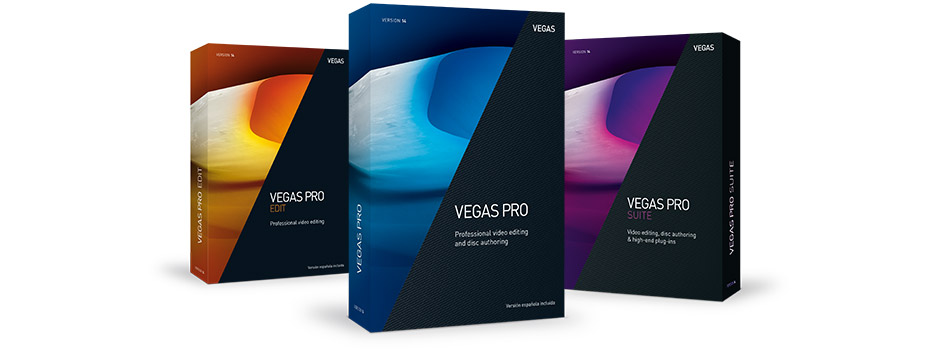 VEGAS Pro 14 Suite - Every version is a hit