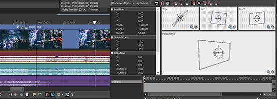 VEGAS Pro 15 - Compositing modes
