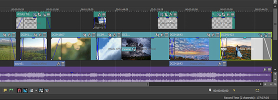 VEGAS Pro 15 - Optimized workflow
