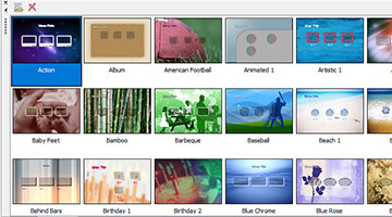 VEGAS Pro 15 - 36 HD menu templates