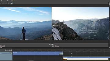 VEGAS Pro 15 - Expanded edit mode