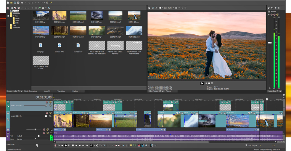 VEGAS Pro 15 Edit - Overview